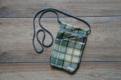 green beige checkered pattern