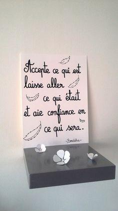 """affiche citation """" BOUDDHA"""" : Affiches, illustrations, posters par stefebricole"""