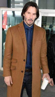 Keanu in brown