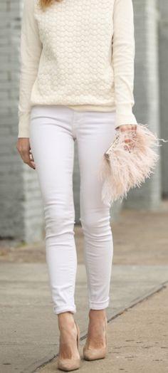 Love that fluffy purse!