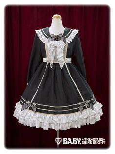 BTSSB Sister Maria's Sailor Collar OP in black (low priority)