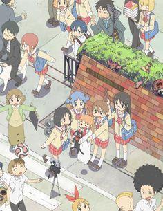 (6) スキ | Tumblr Otaku, Manga Anime, Anime Art, Anime Group, Kyoto Animation, Nichijou, Estilo Anime, Cartoon Games, Manga Illustration