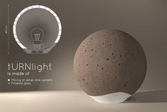 turnlight by agnese dal pont, agnese nicchio, barbara mori, carla d'andrea from italy