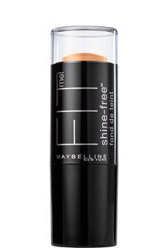 Fit Me Shine Free Balance Stick Foundation, Stick Foundation by Maybelline. Gel stick foundation with an anti-shine powder core goes on creamy & blends to a natural matte
