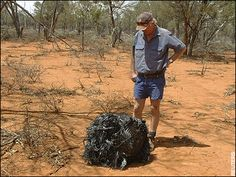 Bloody oath an insignificant pile of metal. Better get this on the news quick smart mate!