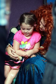 MERIDA has arrived! surprise visits at Epcot until her permanent spot at MK soon!