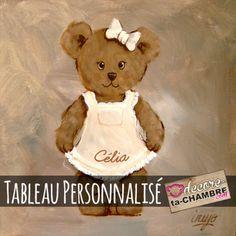 Commandez dès maintenant notre Tableau Ourson fille debout 08 de la gamme TABLEAU Ourson sur notre boutique en ligne DecoreTaChambre.com Livraison rapide et paiement sécurisé.