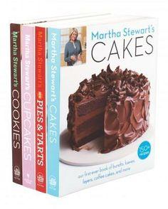 Martha Stewart Baking Cookbooks from amazon.com