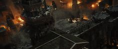 ArtStation - Middle Earth: Shadow of Mordor: City Towers, Andrew Averkin
