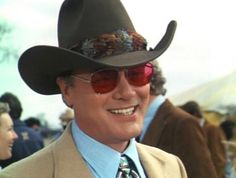looking realllly cool in his shades. Southfork Ranch, Dallas Tv Show, Larry Hagman, 80 Tv Shows, Linda Gray, Texas, Old Tv, Child Love, Episode 5
