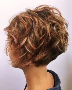 Short messy pixie haircut hairstyle ideas 9 - New Hair Curly Hair Cuts, Short Curly Hair, Wavy Hair, Short Hair Cuts, New Hair, Curly Hair Styles, Short Stacked Hair, Curly Pixie, Short Hairstyles For Women
