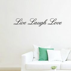 Dupin (TM) Live Laugh Love Removable Wall Stickers Home Decals Decor Quote Art Vinyl DIY -- New and awesome product awaits you, Read it now  : home diy wall