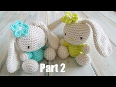 (crochet) Pt2: How To Crochet an Amigurumi Rabbit - Yarn Scrap Friday - YouTube