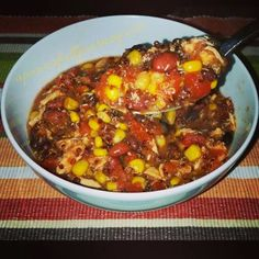 Quinoa Chicken Chili - Healthy, Hearty and Delicious and  it is also a 21 Day Fix Approved Recipe! a power full journey: www.facebook.com/allisonkpower