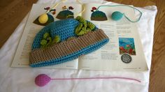 Fishbowl Beanie Crochet Along - Get your kit and #crochet this adorable #hat with us!
