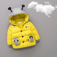 Ladybird Shape Hooded Quilt Coat for Baby | PatPat