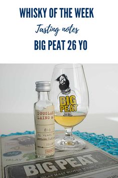 Review and tasting notes for the Big Peat 26 yo Platinum Edition Blended malt whisky Malt Whisky, Scotch Whisky, Whisky Tasting, Scotland, Notes, Big, Single Malt Whisky, Report Cards, Scotch Whiskey