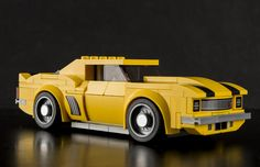 Camaro Lego http://www.flickr.com/photos/50006501@N03/31554329302/