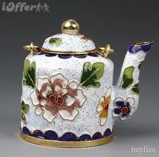 #teapots (is this cloisenne? sorry about spelling) JFB 04-16-13