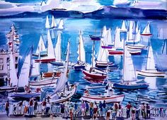 Salida de regata de Rafael Alonso
