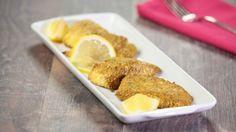 Filetti di gallinella impanati al curry