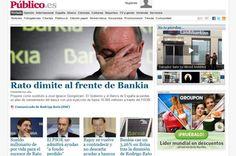 Trabajadores de Público quieren comprar la web del medio por 240 mil euros.