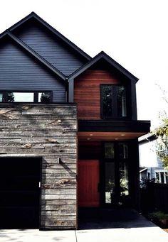 House Siding, House Paint Exterior, House Doors, Cedar Walls, Cedar Siding, Exterior Siding Options, Board And Batten Exterior, Barn House Kits, Vertical Siding
