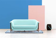 Sofa with Delicate Curves – Valentim by DAM
