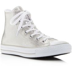 ecb2830c35dd Converse Women s Chuck Taylor All Star Stingray Embossed Metallic High Top Sneakers  Shoes - Bloomingdale s