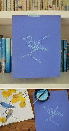 DIY Free Printable Bird Coloring Pages Downloadable Craft Art Project for Kids - SmallforBig.com