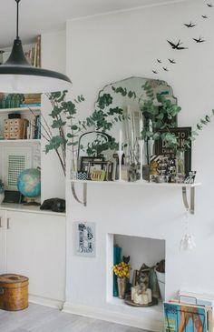 Un appartement vintage: pour les hirondelles.