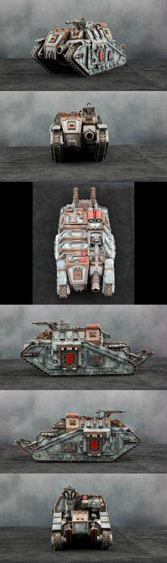 Warhammer 30k | Horus Heresy | Solar Auxilia | Dracosan Armoured Transport | 1905th 'Rust Scorpions'