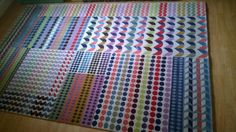 Beautiful Margo Selby for John Lewis Patchwork Rug Large New Multicolour