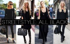 all black outfits - Google Search