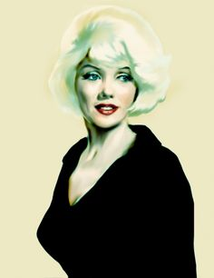 First pinned to Marilyn Monroe Art board, here: http://pinterest.com/fairbanksgrafix/marilyn-monroe-art/ || Something got to give by ~VYossa on deviantART