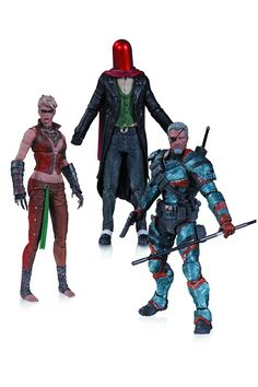 Batman - Arkham Origins Joker - Copperhead - Deathstroke - Action Figure