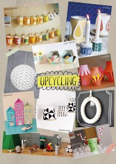 Day 10 - and the theme for today is Upcycling. Join us at the Gifted? stand at New Designers to take part in today's Cupcycling workshop - upcycling paper cups.
