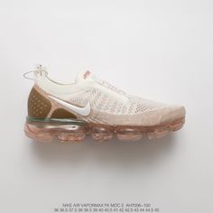 854b8c23bfa Fsr Unisex Nike Air Vapormax Moc 2 Foot Bandage Steam Air Max Jogging Shoes  Light Grey Pink Yellow