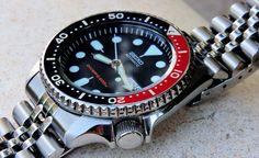 Seiko Skx009, Breitling, Amazing Watches, Rolex Watches, Bracelets, Accessories, Bangles, Bracelet