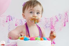 Cake Smash! | Bloom Haven Photography | Twin Cities, MN