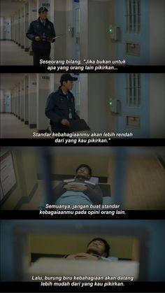 Submarine Quotes, Quotes Lucu, Korean Drama Quotes, Phone Quotes, Movie Quotes, Prison, Kdrama, Qoutes, Haha