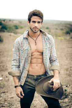 Men in a Plaid Shirt. Erasmo Viana Moura.