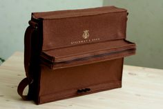 Large Steinway Piano Bag.  Incredible! pocket unzips to expose keys