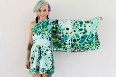 I love this! Off the shoulder kimono sleeve dress US size 4 by jackandflea