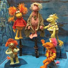 Fraggle Rock at the Smithsonian! Childhood Toys, Childhood Memories, Sesame Street Muppets, Clever Dog, Puppet Patterns, Fraggle Rock, Morning Cartoon, Jim Henson, Classic Tv