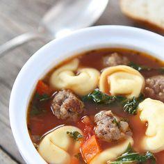 Italian Sausage Tortellini Soup Recipe Soups with italian sausage, rolls, olive…