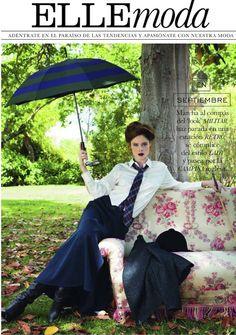 Coco Rocha | Pascal Chevallier | Elle Spain September 2012 | Con Vistas a…
