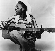 Blues guitarist Lightnin' Hopkins.
