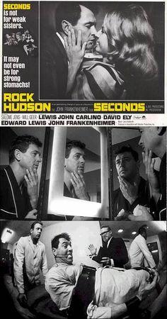 Seconds (1966) Directed by John Frankenheimer, starring Rock Hudson, Salome Jens & John Randolph