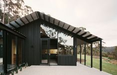 This Lorne Home Is A Dream Collaboration Between Two Architects Australian Architecture, Australian Homes, House Architecture, Clad Home, Charred Wood, Built In Furniture, Timber Cladding, Shed Homes, Storey Homes